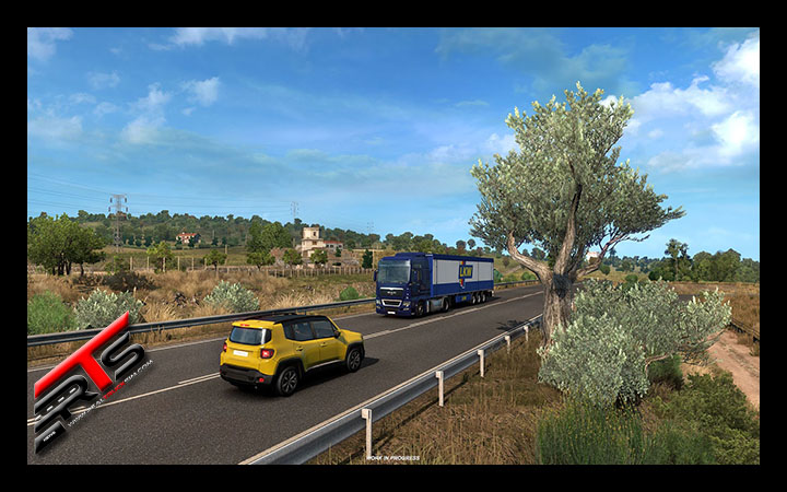 Image Principale Euro Truck Simulator 2 - WIP : Iberia - Olives