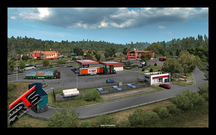 Image Principale Euro Truck Simulator 2 - WIP : Iberia - Relais routiers et stations-services