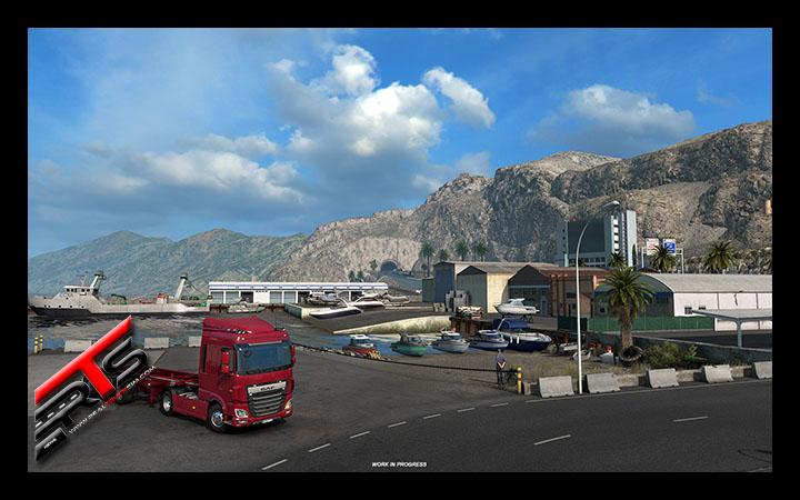 Image Principale Euro Truck Simulator 2 - WIP : Iberia - Villes côtières