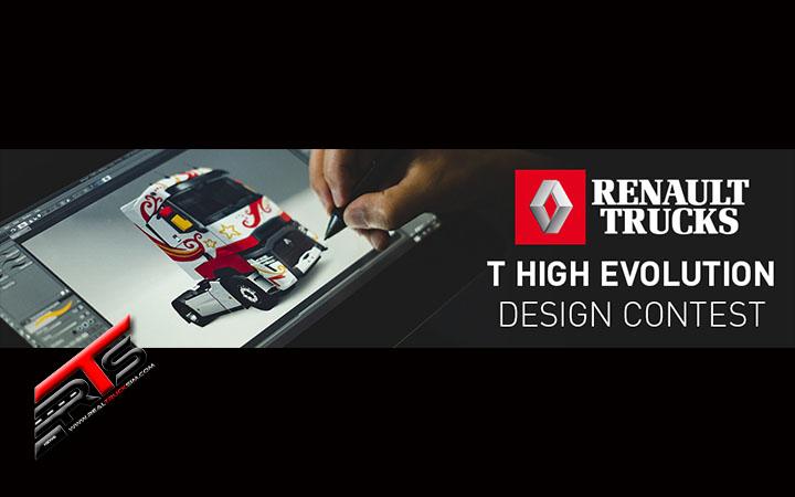Image Principale Euro Truck Simulator 2 - Concours : Rappel - Concours RenaultTrucksEvolution