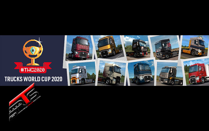 Image Principale Euro Truck Simulator 2 - Concours : Trucks World Cup 2020 - Etape suivante