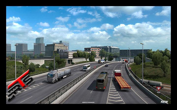 Image Principale Euro Truck Simulator 2 - WIP : Version 1.38 - Refonte de Lille