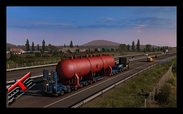 Image Principale Euro Truck Simulator 2 - WIP : Version 1.38 - Road to the Black Sea - Ajouts pour Special Transport