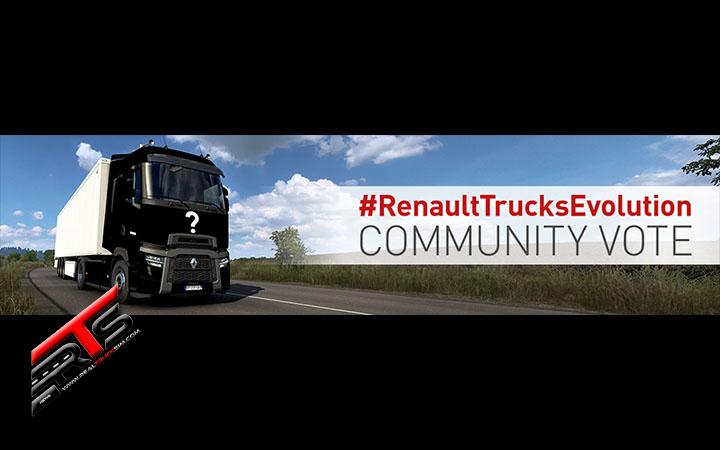 Image Principale Euro Truck Simulator 2 - Concours : Vote de la communauté pour le design Renault Trucks Evolution