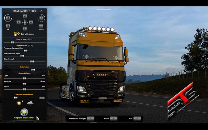 Image Principale American Truck Simulator - Euro Truck Simulator 2 - WIP : 1.41 - Mode photo revisité