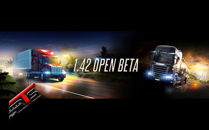 Image Principale American Truck Simulator - Euro Truck Simulator 2 - WIP : Bêta ouverte de la mise à jour 1.42
