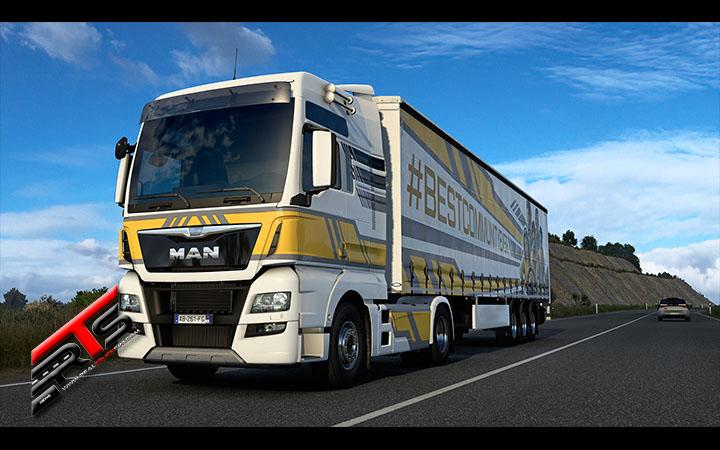 Image Principale American Truck Simulator - Euro Truck Simulator 2 - World of Trucks : Célébration BestCommunityEver