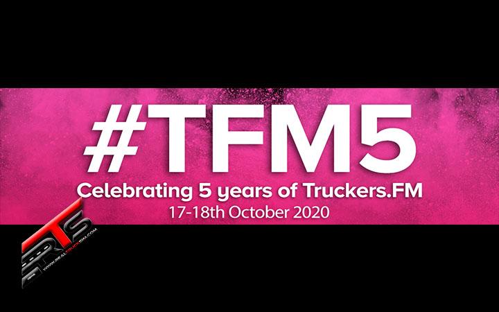Image Principale SCS Software - Communauté : Coup de projecteur sur la communauté - 5ème anniversaire de Truckers.FM