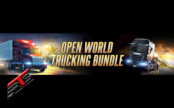 Image Principale SCS Software : Open World Trucking Bundle